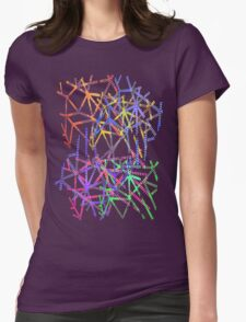 Light Tangles Womens Fitted T-Shirt