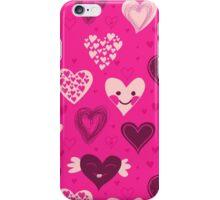 Cute hearts iPhone case iPhone Case/Skin