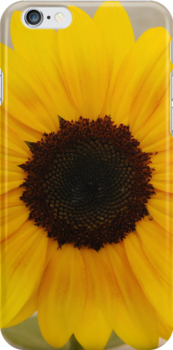 sunflower iphone/samsung galaxy cover by mellychan