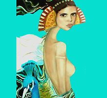 Exotic Vision Iphone Case by Cate Townsend