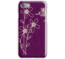 Purple Flowers iPhone Case iPhone Case/Skin