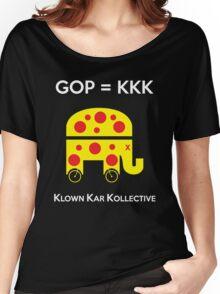 GOP -- KLOWN KAR KOLLECTIVE Women's Relaxed Fit T-Shirt