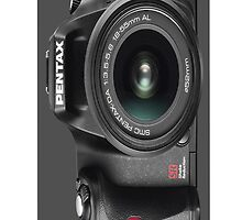 Pentax iphone by Dave  Gosling Designs