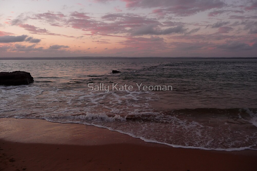 Rose sea: Phillip Island, Australia by Sally Kate Yeoman