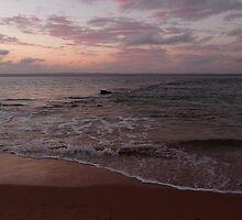 Rose sea: Phillip Island, Australia by Sally Kate Yeoman