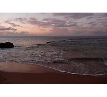 Rose sea: Phillip Island, Australia Photographic Print