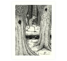 Through The Forest Art Print