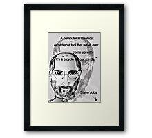 RIP Steve Jobs <3  Framed Print