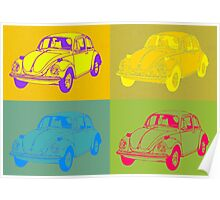 VW Pop Art Poster