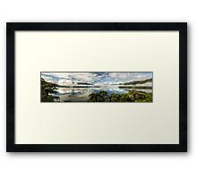 Tranquil Tarawera  (Pano) Framed Print