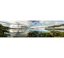 Tranquil Tarawera  (Pano) Photographic Print