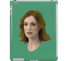Jemma Simmons iPad Case/Skin