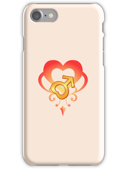 Sailor Moon - Teletia S Mars iPhone Case by DrFrizzy