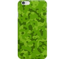 green camouflage  iPhone Case/Skin