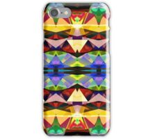 Colorful Abstract Geometric Symmetry iPhone Case/Skin