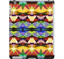 Colorful Abstract Geometric Symmetry iPad Case/Skin
