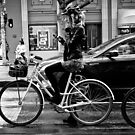 Bike Girl by Anthony Evans