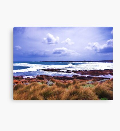 Hawley Surf, Canon IXUS 50 Canvas Print