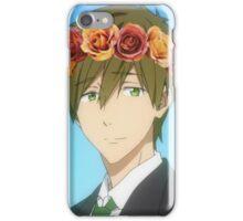 Free! Makoto flower crown iPhone Case/Skin