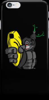 Guns Don't Kill People, Bananas Do! by jayveezed
