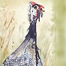 iPhone Cover South African Guinea Fowl by Maree Clarkson