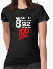 8 More Than 92 - BLK Background T-Shirt