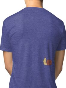 Adventure Time Snail - Small Tri-blend T-Shirt