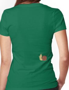 Adventure Time Snail - Small Womens Fitted T-Shirt