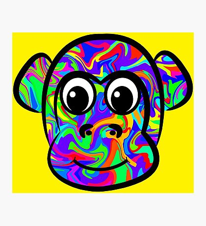 Colorful Monkey Photographic Print