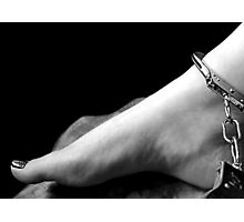Footcuffed Photographic Print