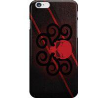Hydra Red Skull Logo iPhone Case/Skin