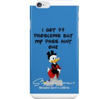 99 PROBLEMS Signature+ DarkBlue iPhone Case/Skin
