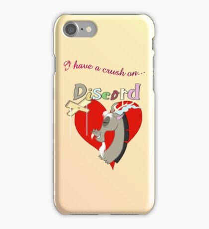 I have a crush on... Discord iPhone Case/Skin