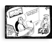 Job Interview Canvas Print