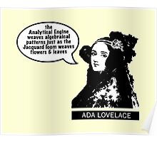 Ada Lovelace - Analytical Engine Poster
