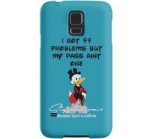 99 PROBLEMS Signature+ LightBlue Samsung Galaxy Case/Skin