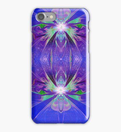 Blue Plastic iPhone Case/Skin