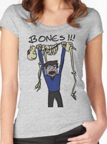 Leonard McCoy from Star Trek TOS Women's Fitted Scoop T-Shirt