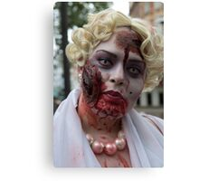 World Zombie Day  Canvas Print