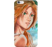 Sweet summer of Lisa iPhone Case/Skin