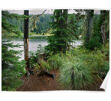 Blair Lake ~ Oregon Cascades ~ Poster