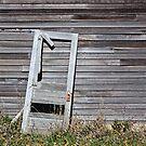 Broken Door by Glennis  Siverson