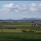 Bennachie from The Prop of Ythsie by Peter Ackers