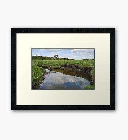 River Ribble Tributary Framed Print