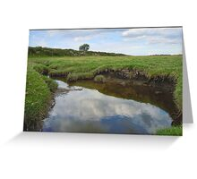 River Ribble Tributary Greeting Card
