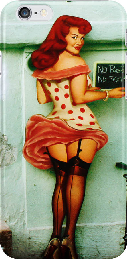 Iphone case - Sex Sells by © Kira Bodensted