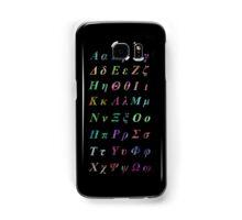 GREEK ALPHABET Samsung Galaxy Case/Skin