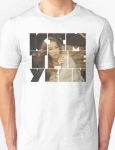 Kim Taeyeon 'I' Typography 3 T-Shirt