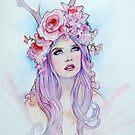 Pastel Madonna by NeverBird