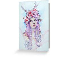 Pastel Madonna Greeting Card